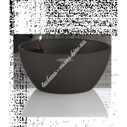 LECHUZA Cubeto Color 40 Графитовый черный