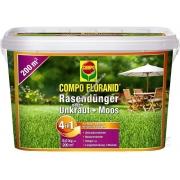 Compo Floranid комплексное удобрение против мха и бурьяна 4 и 5 кг
