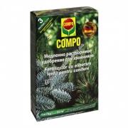 Compo Твердое удобрение долговременного действия для хвойных 1 кг