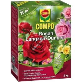 Compo Bio Твердое органическое удобрение долговременного действия для роз 2 кг