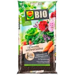 Compo Bio Грунт универсальный органический без торфа 15 л
