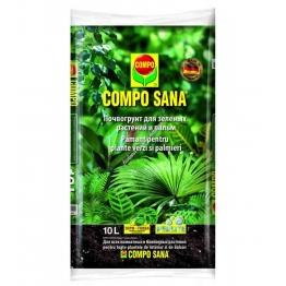 Compo P торфосмесь для зеленых растений и пальм 20 л