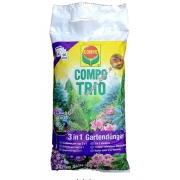 Compo Твердое удобрение универсальное для всех видов растений 3 в 1 3 кг