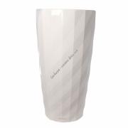 LECHUZA Diamante 40 Белый глянец