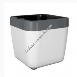 Горшок EMSA MYBOX 35х35х34 см (Белый)