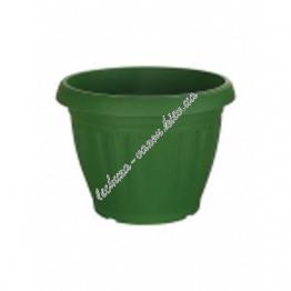 Цветочный горшок Emsa TOSCANA 35 см (Темно зеленый)