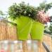 Цветочный горшок EMSA CASA CITY прямоугольный 60х30 см (Розовый)