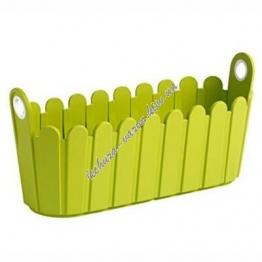 Цветочный горшок EMSA LANDHAUS 39х15 см (Зеленый)