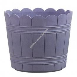 Оконный цветочный горшок EMSA COUNTRY круглый 30х26 см (Фиолетовый)