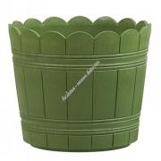 Оконный цветочный горшок EMSA COUNTRY круглый 35х29 см (Зеленый)
