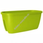 Цветочный горшок EMSA CASA CITY прямоугольный 60х30 см (Зеленый)