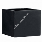 Цветочный горшок EMSA Cheltenham 80 см (Черный)