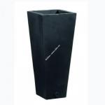 Цветочный горшок EMSA Lancashire 45 см (Черный)