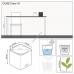 LECHUZA Cube Color 16 Серый