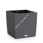 LECHUZA Cube Cattage 30 Гранит