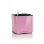 LECHUZA CUBE Glossy 14 розовый