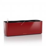LECHUZA CUBE Glossy Triple 40х14х14 cм Красный