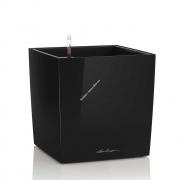 LECHUZA Cube Premium 50 Черный