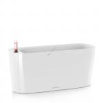LECHUZA Delta Premium 20 Белый глянец