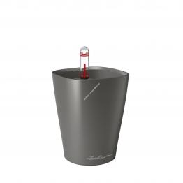 LECHUZA Mini Deltini Premium Антрацитовый металлик
