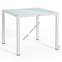 LECHUZA Стол Малый 90x90 Белый